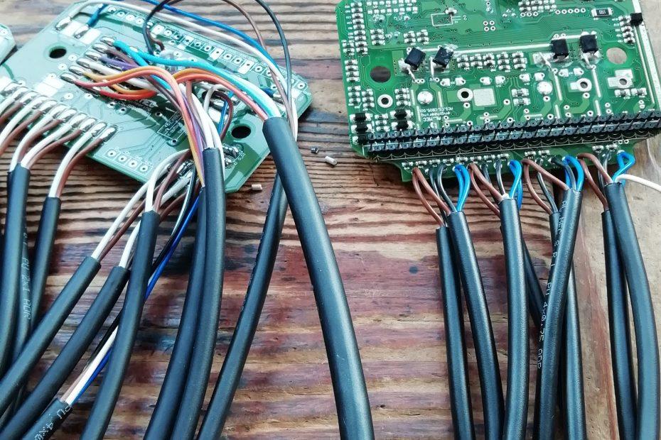 Schede elettroniche con saldature a stagno